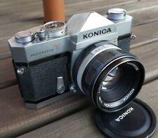 Konica Autoreflex T Chrome with 50/1.7 Lens