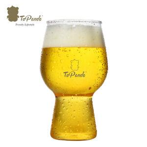 ToPanda IPA Craft Beer Glass ( 2 pcs ) Cocktail Cup Plastic Mug Outdoor Barware