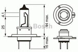 Genuine BOSCH LONGLIFE 499 H7 12V 55W PX26D - 1987302078