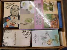 41 Bücher Hardcover Romane Sachbücher verschiedene Themen Paket 9