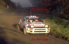 Didier Auriol Toyota Celica Turbo 4WD Winner New Zealnd Rally 1994 Photograph 1