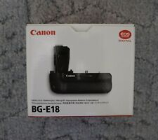 Canon BG-E18 Battery Grip Genuine Original for Canon EOS 750/760D/Rebel T6i/T6s