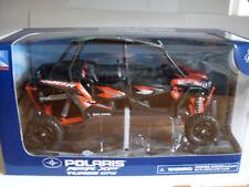 Polaris rzr XP 4 1000 Titanium Orange, ATV modelo 1:18, Newray