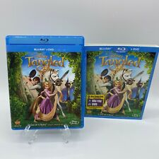 Tangled (Blu-ray, 2011, 2-Disc Set) with Slipcover Blu-Ray only no DVD