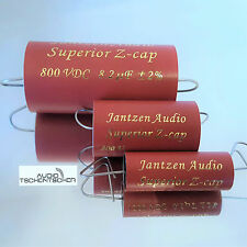 Jantzen Z-Superior Cap All Tube, 3,90 µF, 800 VDC