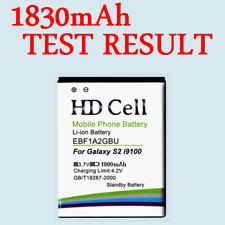 * 1800 mAh HD Cell batterie * samsung galaxy s2 gt-i9100 i9103 i9108/eb-f1a2gbu