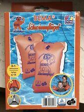 BEMA Schwimmflügel für Kinder 0 - 1 Jahre, 0-11 kg, Gr. 00 orange  Neu/OVP