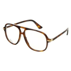 NEW DIOR Eyeglasses Size 55mm 145mm 14mm New With Case