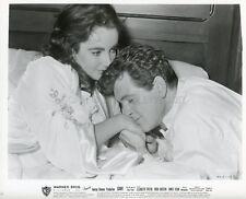ELIZABETH LIZ TAYLOR  ROCK HUDSON GIANT 1956 VINTAGE PHOTO ORIGINAL #8