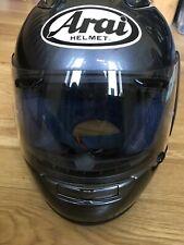 Arai RX-7 Corsair Motorcycle Helmet (Small) Aluminium Grey