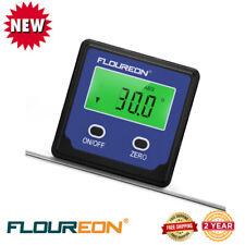 Digital Angle Gauge Level Angle Finder Protractor Meter Bevel Box Inclinometer