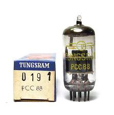 Tungsram PCC88 / PCC 88 Röhre, 7V Version der ECC88, NOS