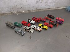 Lot of 16 Hot Wheels & Matchbox Cars Ferrari Jeep Firetruck Trans Am Camaro