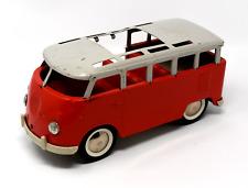 Vintage Buddy L Red Volkswagon Bus
