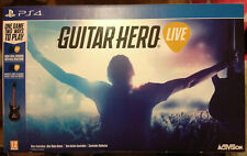 GUITAR HERO LIVE + 1 GUITAR PS4 PAL BRAND NEW