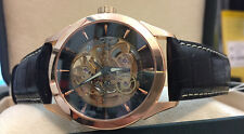 Skeleton Roamer Watch Mechanical Competence Sque 101630495501 rosgold