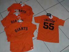 San Francisco Giants Tim Lincecum Orange T-Shirt Medium Lot Of (15) Wholesale