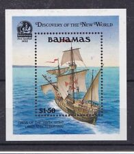 Bahamas 1991 Bf 62 500 anniversario scoperta dell'America MHN