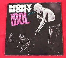 Billy Idol- Mony Mony Promo & Pic Sleeve on Chrysalis 45 RPM