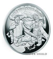 1 oz silver Make World War Again Proof .999.Silver Shield.Donald Trump. Korea