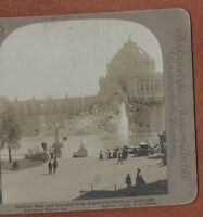""""""" LOUISIANA PURCHASE EXPOSITION, FESTIVAL HALL """"  ORIGINAL 1904 STEREOVIEW."""