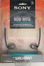 New Sealed Vintage Sony MDR-W05L Stereo Headphones For Walkman Same As W08L NIB