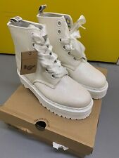 dr martens Molly Gltr Iridescent White Womens Size Uk 9