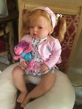 """Ariana Customized Reborn Toddler doll"