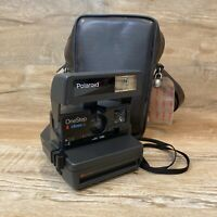 Polaroid One Step Close Up 600 Camera Tested and Working With Carry Bag