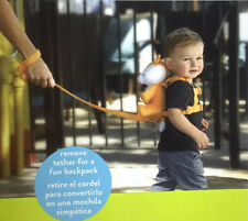 Child Safety Strap Fox Backpack Harness Removable Tether 2-in-1 Harness & Buddy