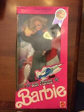 Air Force Barbie Starn N' Stripes Limited Edition 1990 Mattel #3360 Flight Suit