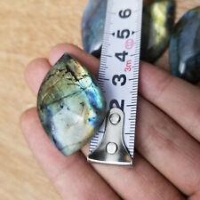 New Natural Labradorite Crystal Rough Polished Rock From Madagascar Gift 1PCS