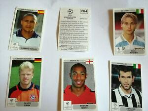 Panini UEFA Champions League 2000/2001 00 01 CL - Sticker aussuchen select Nr no