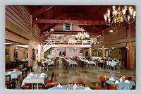 Hazleton PA, Gus Genetti Hotel, Motel, & Lodge, Chrome Pennsylvania Postcard