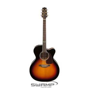 Takamine GJ72CE Jumbo Acoustic Electric Guitar Cutaway Brown Sunburst Finish