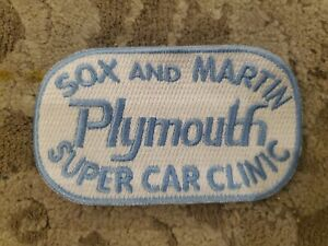 Sox And Martin Plymouth Super Car Clinic Patch