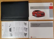 GENUINE VAUXHALL ASTRA OWNERS MANUAL HANDBOOK WALLET 2004-2010 PACK D-38