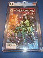Excalibur #16 X-men CGC 9.8 NM/M Gorgeous Gem