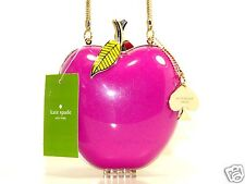 NEW!! Kate Spade Far From the Tree Pink Apple Clutch Shoulder Bag PXRU4430