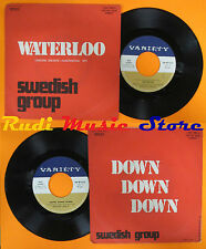 LP 45 7'' SWEDISH GROUP Waterloo Down 1974 italy VARIETY FNP-NP 10214 cd mc dvd*