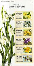 2014 flora/flowers Me # 1 primavera florece Post & Go conjunto menta en tarjeta de presentación