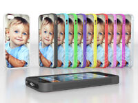 Personalised Custom Printed Case Cover for iPhone 5 5S Silicone Soft Rubber TPU