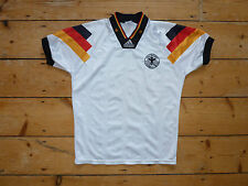 "GERMANY FOOTBALL shirt small (34-36"") 1992 GERMAN SOCCER JERSEY maglia camiseta"