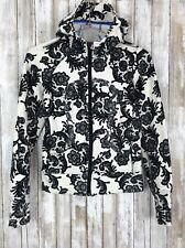 Lululemon Scuba Hoodie Laceoflage Sweatshirt Hoodie Lace Black White Floral 4 S