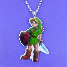 Leyenda De Zelda Collar De Juego De Nintendo Cosplay Gamer Geek Nerd Espada Anime