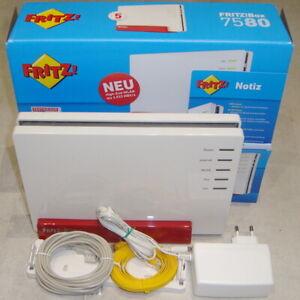 AVM FRITZ!Box 7580 (20002761) 1733 Mbps Wireless AC Router komplett OVP