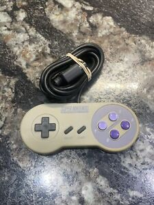 Authentic oem official Super Nintendo Snes controller SNS-005 Tested & working!