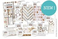 *OFFER* Elements Wood Papermania Capsule Rustic Paper Card Craft Collection