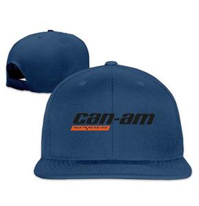 Can Am Spyder Roadster Snowmobile Snapback Baseball Cap Hats