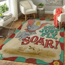 Dumbo Area Rugs Disney Movies Living Room Carpet FN181245 Local Brands Floor